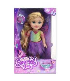Boneca-Articulada-32-Cm---Funville-Sparkle-Girlz---Fada-Loira---Vestido-Lilas-e-Verde---DTC