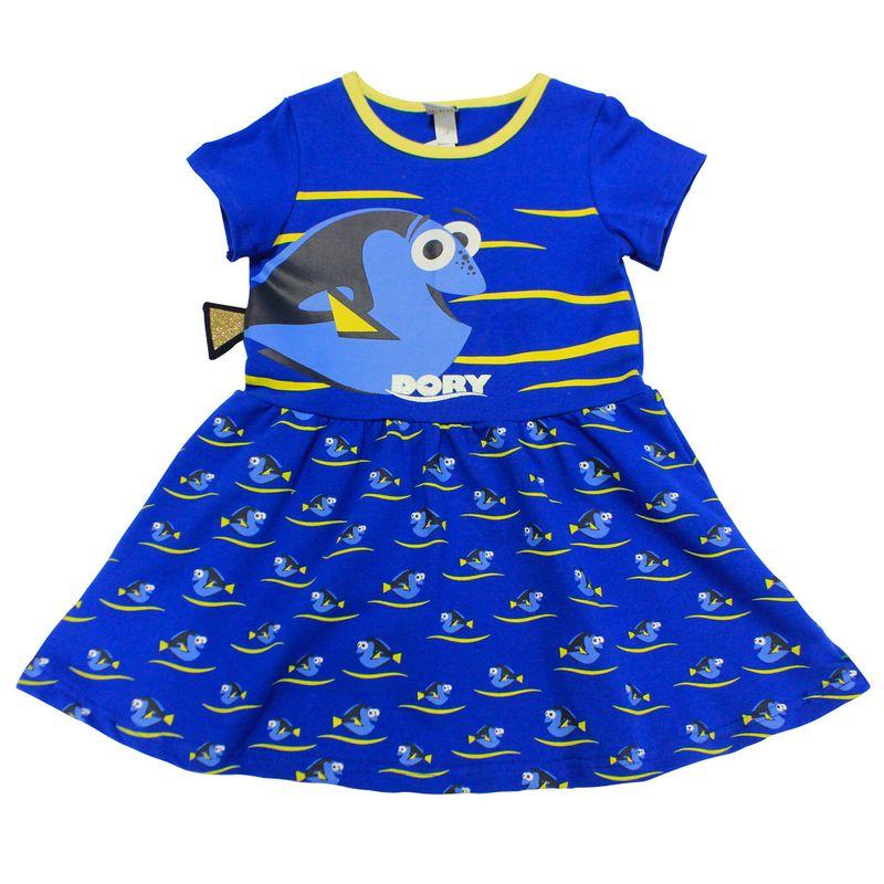 394a125844 Body Fantasia Vestido Manga Curta em Suedine - Azul - Procurando ...