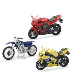 Conjunto-de-Motos---Fast-Lane---1-18---Pack-Honda-CBR600---New-Toys