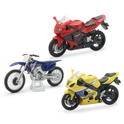 Conjunto-de-Motos---Fast-Lane---1-18---Pack-Honda-CBR600---New-Toys