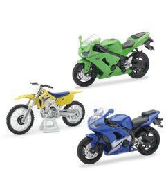 Conjunto-de-Motos---Fast-Lane---1-18---Pack-Kawasaki-Ninja---New-Toys