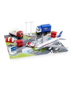 Conjunto-de-Veiculos---Fast-Lane---25-Pecas---Veiculos-do-Aeroporto---New-Toys