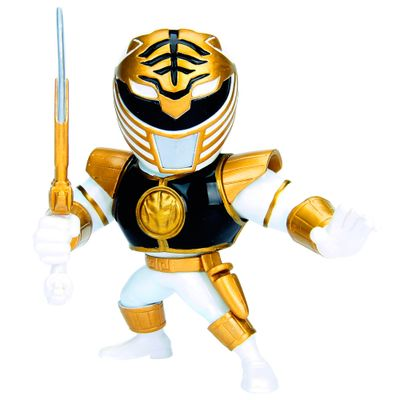 Figura-Colecionavel-10-Cm---Metals---Mighty-Morphin---Power-Rangers---White-Ranger---DTC