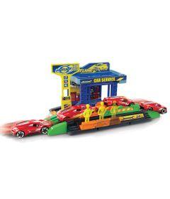 Playset-e-Veiculo---Fast-Lane---Posto-de-Servicos---New-Toys