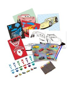 Conjunto-de-Pintura---Lata-de-Atividades---Carros-3---Disney---DTC