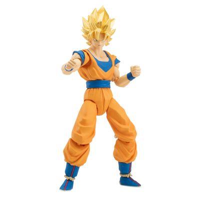 Boneco-Articulado---Dragon-Ball-Super---com-Peca-Colecionavel---Goku---Brinquedos-Chocolate