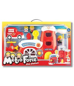 Playset-com-Bonecos---Bombeiros-em-Acao---Keenway---New-Toys