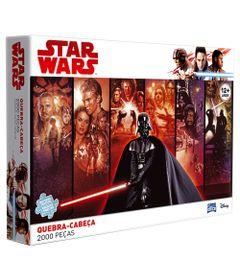 Quebra-Cabeca---2000-Pecas---Star-Wars---Classico---Toyster---Disney