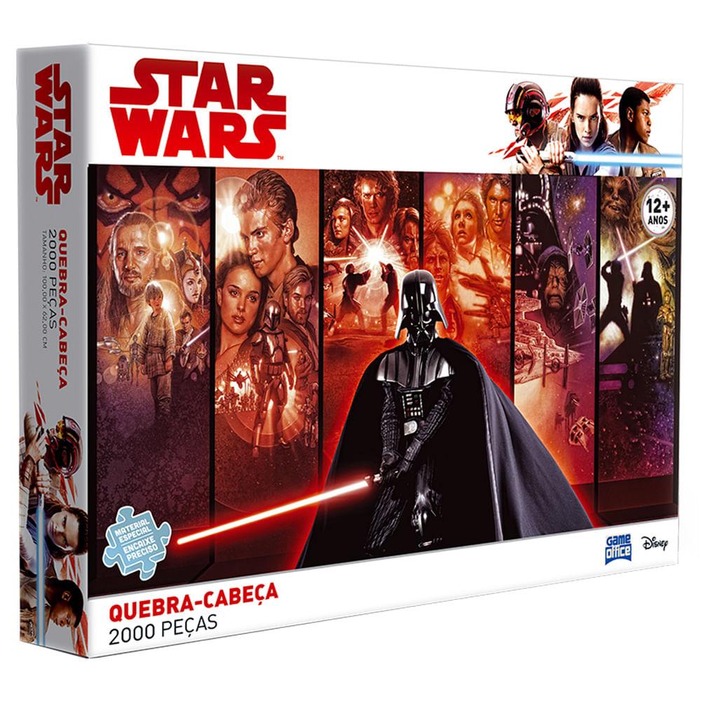 Quebra-Cabeça - 2000 Peças - Star Wars - Clássico - Toyster - Disney