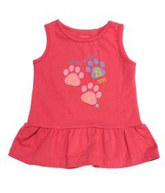 Blusa-Regata-e-Gola-Careca-com-Babado-em-Cotton---Rosa---Fisher-Price---2