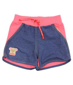 Short-em-Cotton---Azul-Mescla-e-Rosa---Fisher-Price---1
