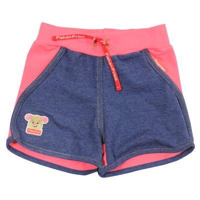 Short-em-Cotton---Azul-Mescla-e-Rosa---Fisher-Price---1