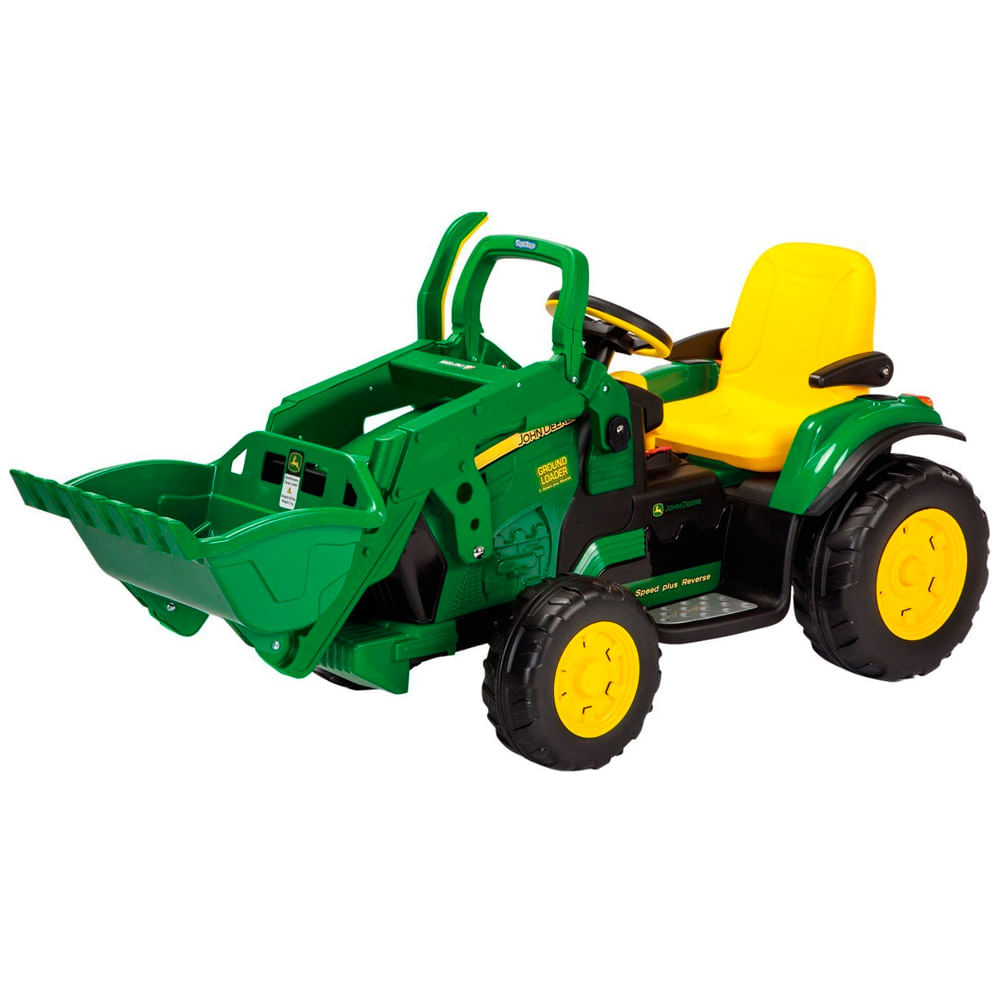 Mini Trator Elétrico - John Deere Ground Loader 12V - Peg - Pérego