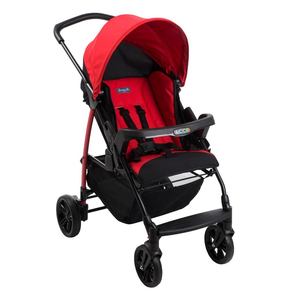 Carrinho de Bebê - Passeio - Burigotto – Ecco – De 0 a 15 Kg –  Red