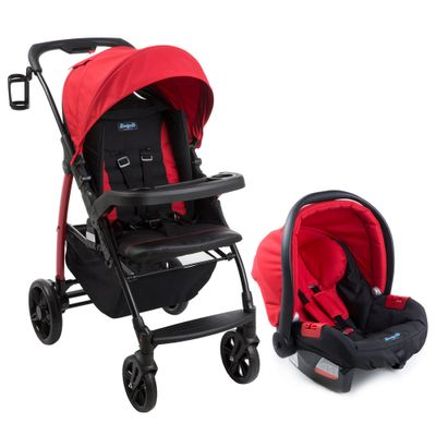 Conjunto-Travel-System---Modulo-Pramette---Touring-Evolution---Red---Burigotto