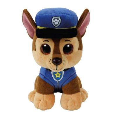 Pelucia-30-Cm---Beanie-Babies---Patrulha-Canina---Chase---DTC