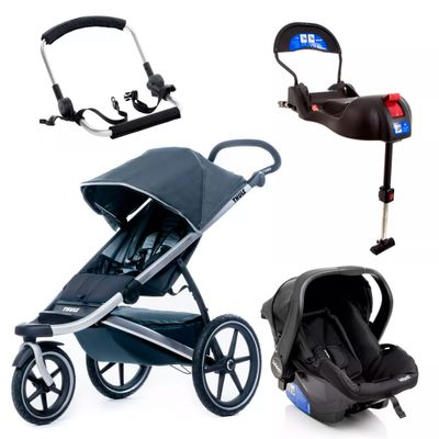 Travel-System-Urban-Glide-Dark-Shadow-Com-Suporte-e-Base-Isofix-Onyx---Infanti
