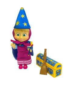 Boneca-com-Acessorios---15-Cm---Masha-e-o-Urso---Masha-Magica---Sunny