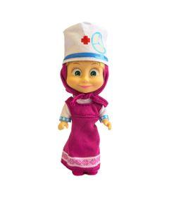 Boneca-sem-Mecanismo---12-Cm---Masha-e-o-Urso---Masha-Estilos---Enfermeira---Sunny
