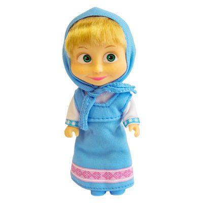 Boneca-sem-Mecanismo---15-Cm---Masha-e-o-Urso---Masha-Cores---Azul---Sunny