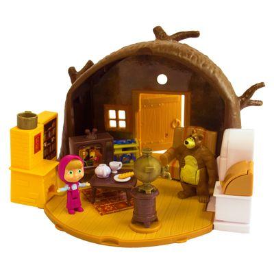 Playset-e-Mini-Figuras---Masha-e-o-Urso---A-Casa-do-Urso---Sunny