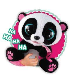 Pelucia-Interativa---Club-Petz---Urso-Yoyo-Panda---Brinquedos-Chocolate