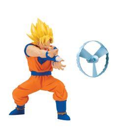 Boneco-com-Mecanismo-e-Lancador---Dragon-Ball-Super---Goku-Super-Sayajin---Brinquedos-Chocolate