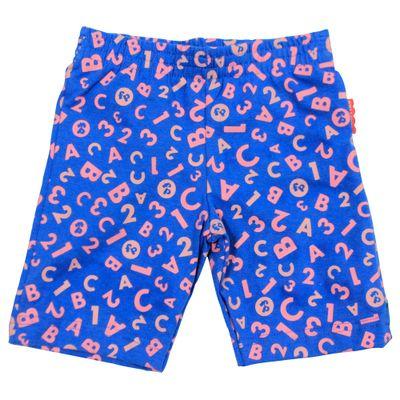 Bermuda-Ciclista-Reta-em-Cotton---Azul-e-Rosa---Fisher-Price---1