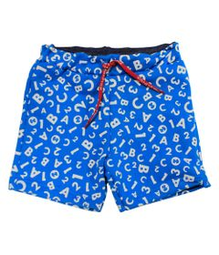 Bermuda-em-Moletinho---Azul-e-Branco---Fisher-Price---1