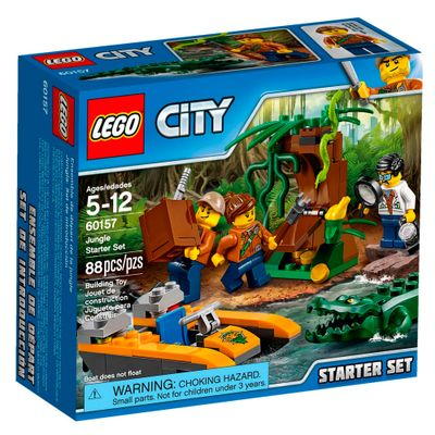LEGO-City---Starter-Set---Base-da-Selva---60157