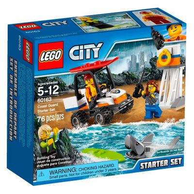 LEGO-City---Starter-Set---Guarda-Costeira---60163