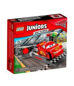 LEGO-Juniors---Disney---Pixar---Carros-3---Pista-de-Lancamento---Relampago-McQueen---10730