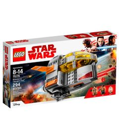 LEGO-Star-Wars---Disney---Star-Wars-Episodio-VIII---Transporte-da-Resistencia---75176