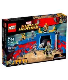 LEGO-Super-Heroes---Disney---Marvel---Thor-Ragnarok---Arena-de-Batalha---Thor-Vs-Hulk---76088
