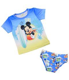 Conjuntinho-Infantil---Mickey-Mouse---Azul-e-Verde---Disney---1