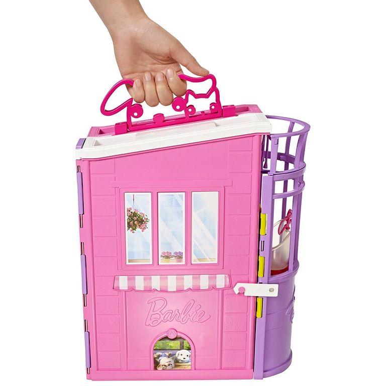 Playset Barbie Family Hospital Dos Bichinhos Mattel Ri Happy