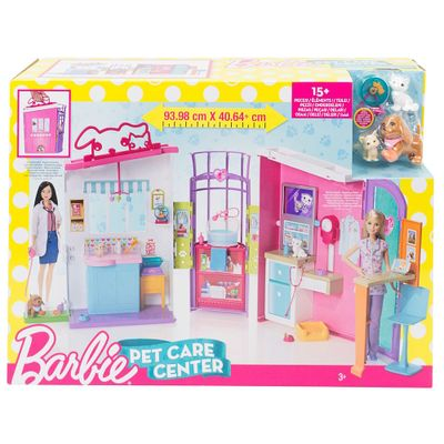 Playset Barbie Family Hospital Dos Bichinhos Mattel Pbkids