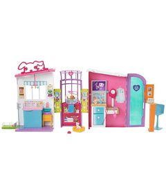 Playset-Barbie-Family---Hospital-dos-Bichinhos---Mattel