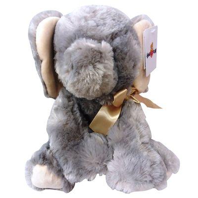 Pelucia-20-Cm---Bichinhos-com-Laco---Elefante---New-Toys
