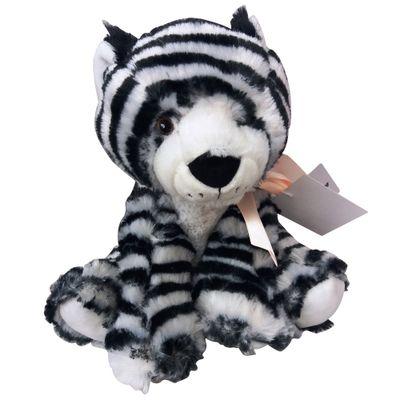 Pelucia-20-Cm---Bichinhos-com-Laco---Zebra---New-Toys