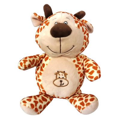 Pelucia-25-Cm---Bichinhos-Barriguinha-Bordada---Girafinha---New-Toys