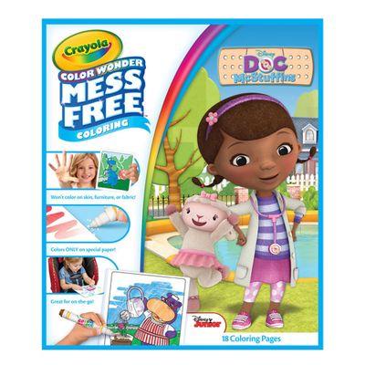 Refil-de-Folhas---Color-Wonder---Disney---Doutora-Brinquedos---Crayola---FRENTE