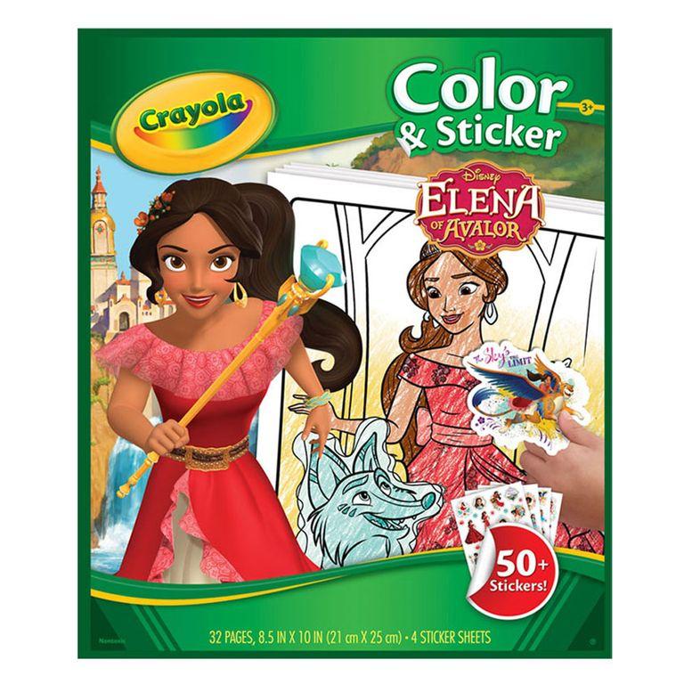 Livro Para Colorir Disney Elena De Avalor Crayola Ri Happy