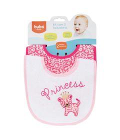 Kit-com-2-Babadores-Estampados---Princesas---Buba---FRENTE