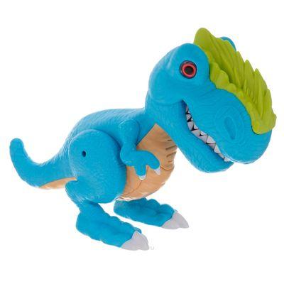 Dino-com-Luz-e-Som---Junior-Megasaur---T-Rex---Azul---Fun