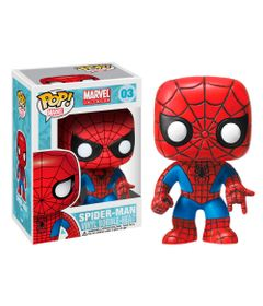 Figura-Colecionavel---Funko-Wacky-Wobbler---Disney---Marvel---Spider-Man---Global-Fantasias