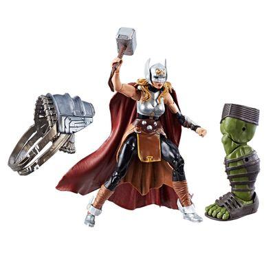 Figura-de-Acao---20-Cm---Disney---Marvel-Legend-Series---Thor-Ragnarok---Thor-Jane-Foster---Hasbro---Frente