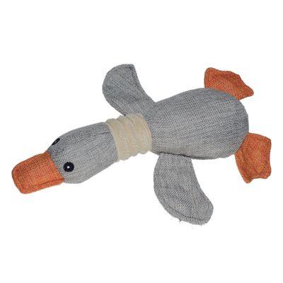 6034---Brinquedos-para-Pet---Natural-Duck---Cinza---Pet-Brink---FRENTE