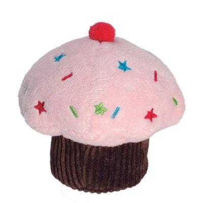 6036---Brinquedos-para-Pet---Pelucia-Fun-Cupcake---Rosa---Pet-Brink---FRENTE