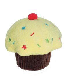 6036---Brinquedos-para-Pet---Pelucia-Fun-Cupcake---Amarelo---Pet-Brink---FRENTE